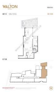 The Walton Residences floor plan 2