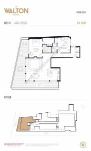 The Walton Residences floor plan 3