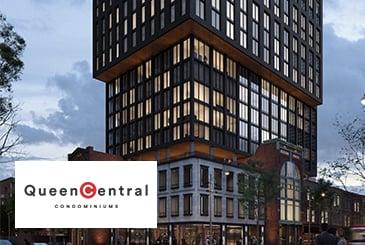 Queen Central Condos in Toronto by Parallax & Harlo Capital