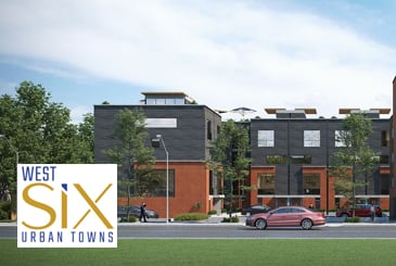 West Six Urban Towns in Toronto by Allegra Homes