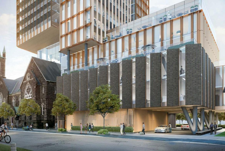 Rendering of Cielo Condos modern facade