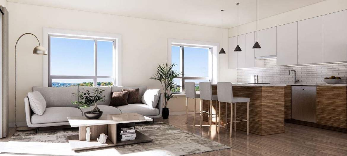 Rendering of The Residences On Owen interior suite