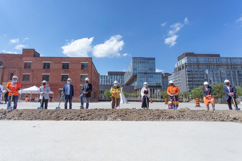 Indigenous Hub Groundbreaking/Anishnawbe Health Toronto