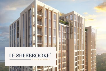 Le Sherbrooke Condos in Montréal by Broccolini