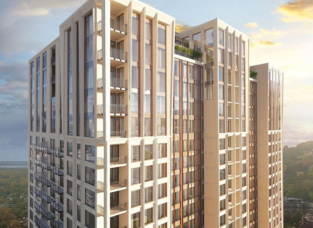 Rendering of Le Sherbrooke Condos exterior