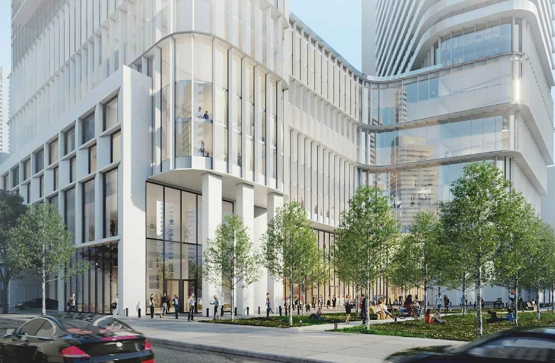 Rendering of 475 Yonge Street Condos exterior facade
