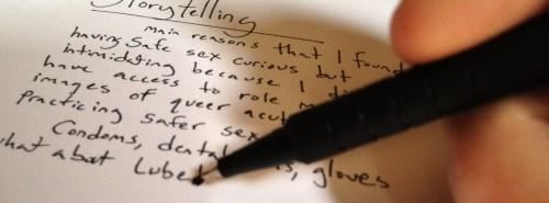 storytelling piece