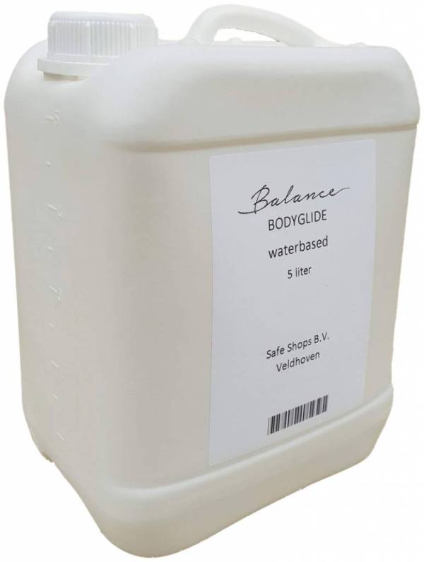 Balance Body Glide Aqua - Grootverpakking Glijmiddel Op Waterbasis - 5ltr