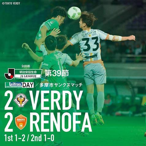 【Result】実力通りの結果~第39節vsレノファ山口FC(H)~