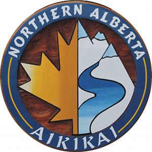 northern alberta aikikai.martial arts handcrafted artist painted sand blasted cedar sign,Edmonton Alberta karate,Calgary Karate,business sign fof dojo,judo