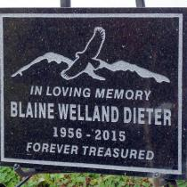 memorial plaques supplied for Smithers BC by Condor Signs Vernon BC