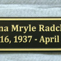 metal bronze headstone grave marker and memorial plaques by condor signs vernon bc canada