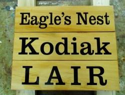 Spirit lodge parking signs