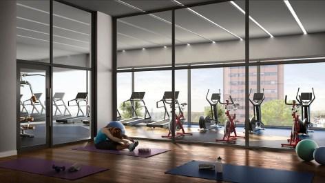 DTK Condos Gym