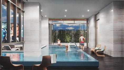 Central Condos pool