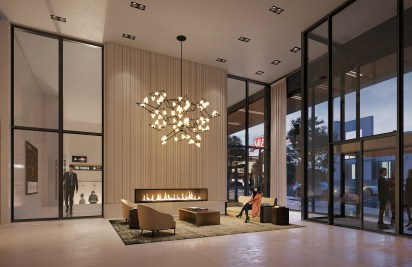 The Forest Hill Lobby