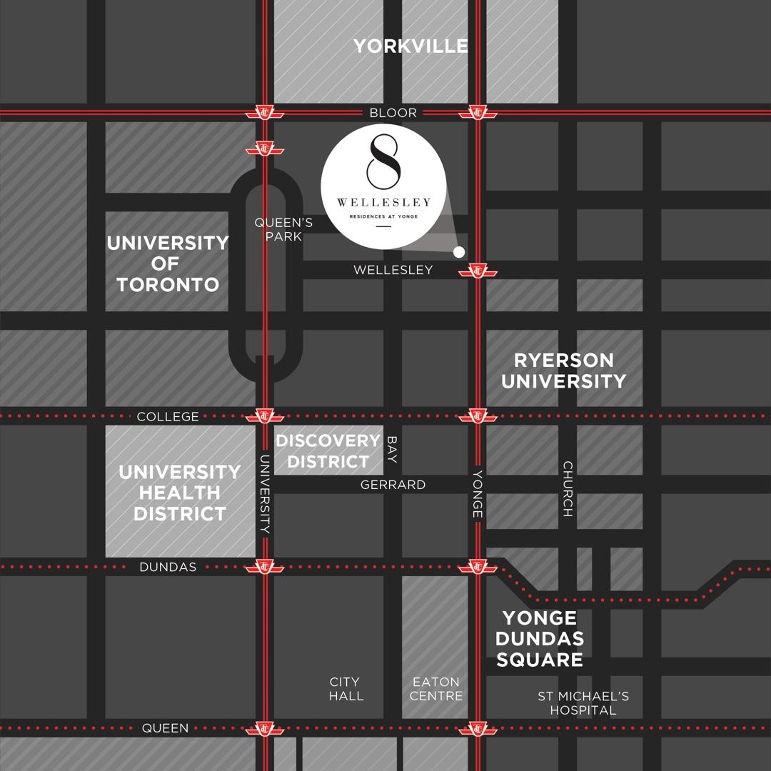 8 Wellesley - Location Map