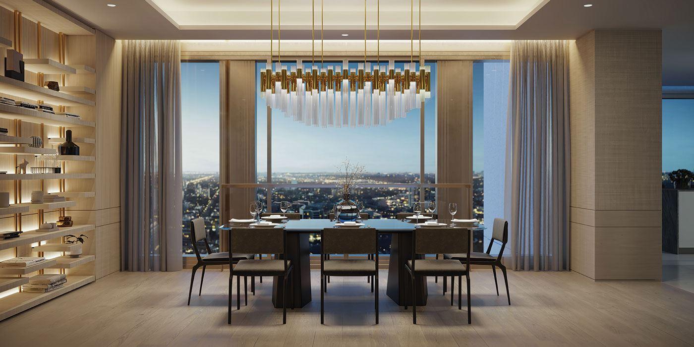 50 Scollard Condos dining room