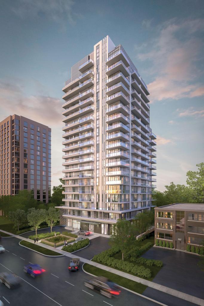 609 Avenue rendering