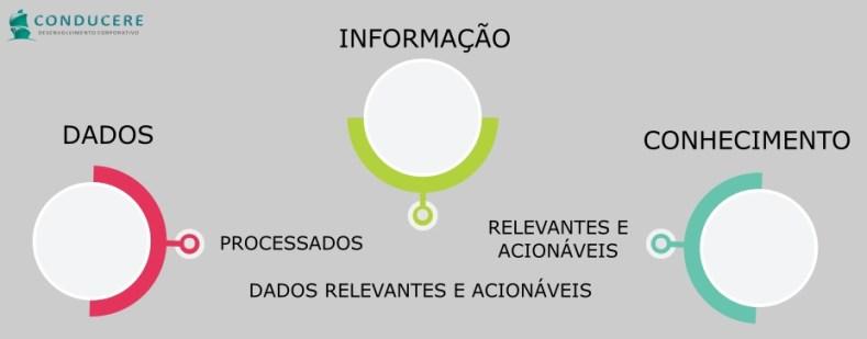 Dado, informação e o conhecimento