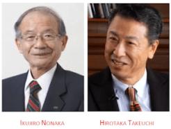 criadores da espiral do conhecimento