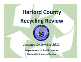 Harford County Recycling Review