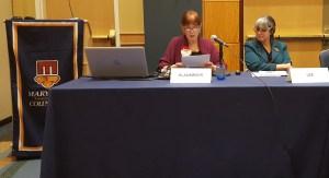 Sen. Kathy Klausmeier; Arlene Lee, Executive Director, Governor's Office for Children