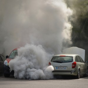 cars and air pollution