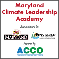 Enrollment is Open–Maryland Climate Leadership Academy