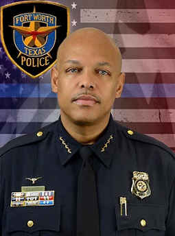 Chief Joel Fitzgerald (photo source: Fort Worth Police Department)