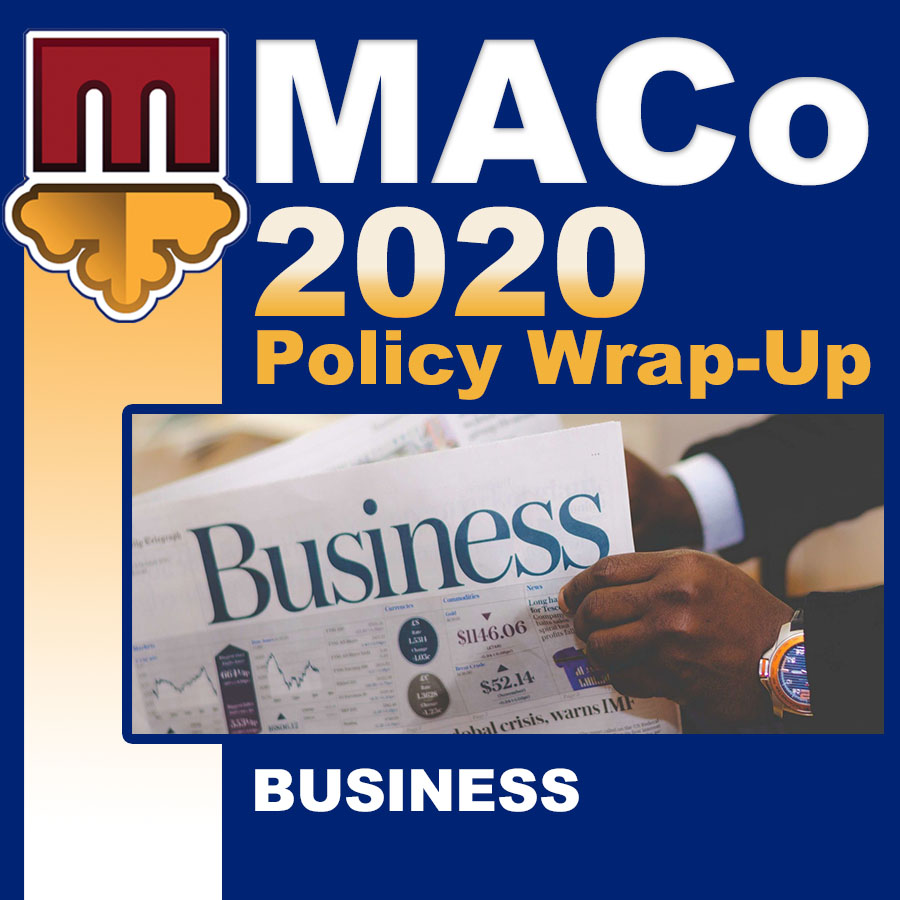 2020 End of Session Wrap-Up: Business Affairs