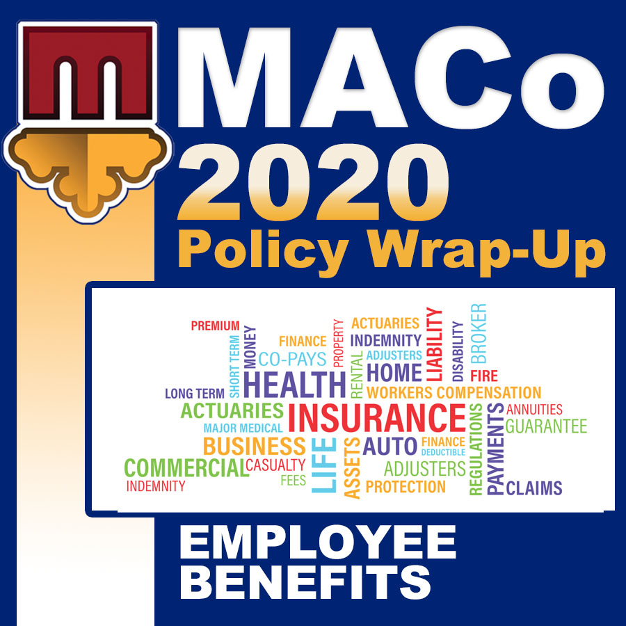 2020 End of Session Wrap-Up: Employee Benefits and Relations