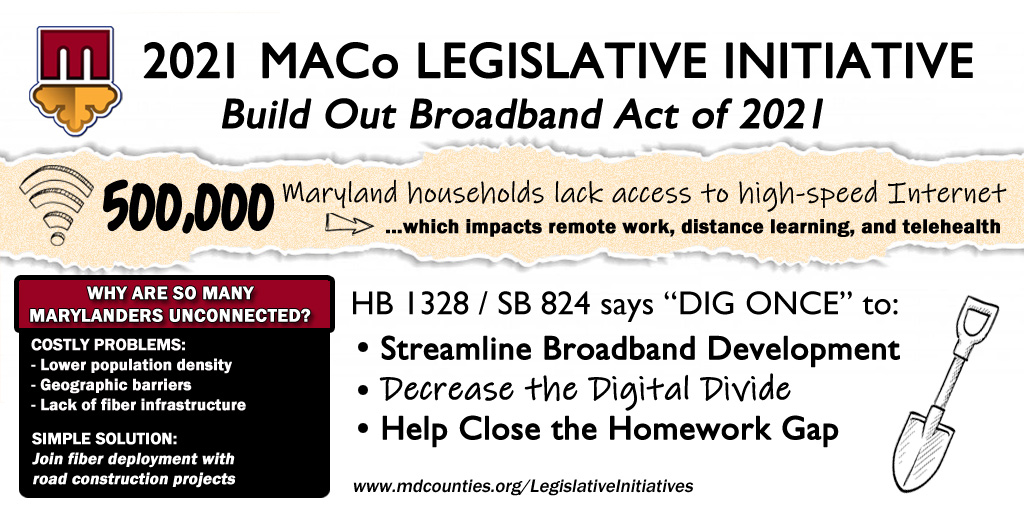 General Assembly Passes MACo Broadband Initiative