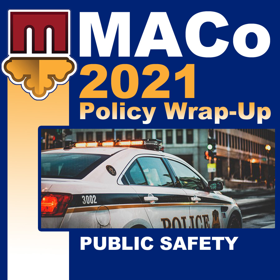 2021 End of Session Wrap-Up: Public Safety & Corrections