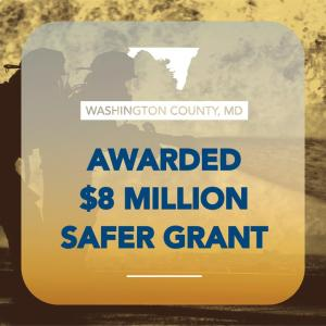 Feds Award Washington County $8M to Hire More Firefighters