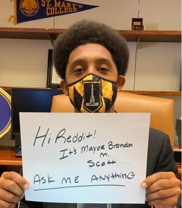 "Mayor Scott to Internet: ""Ask Me Anything!"""