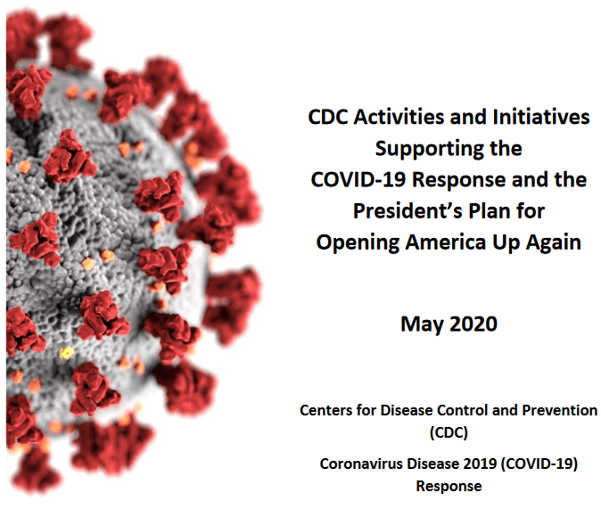 "CDC Issues ""Re-Opening"" Guidelines"