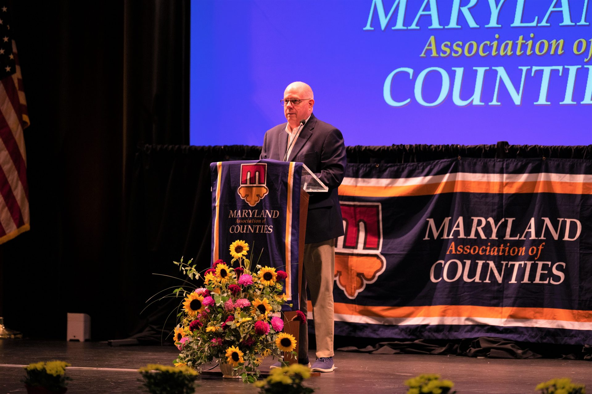 At MACoCon, Hogan Announced the State's Route 90 Project and Discussed COVID-19 Response