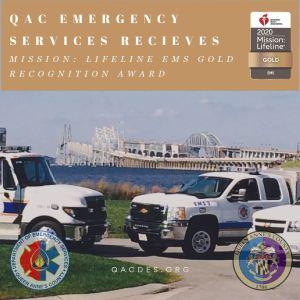 Queen Anne's Earns American Heart Association's Mission: Lifeline® EMS Gold Award
