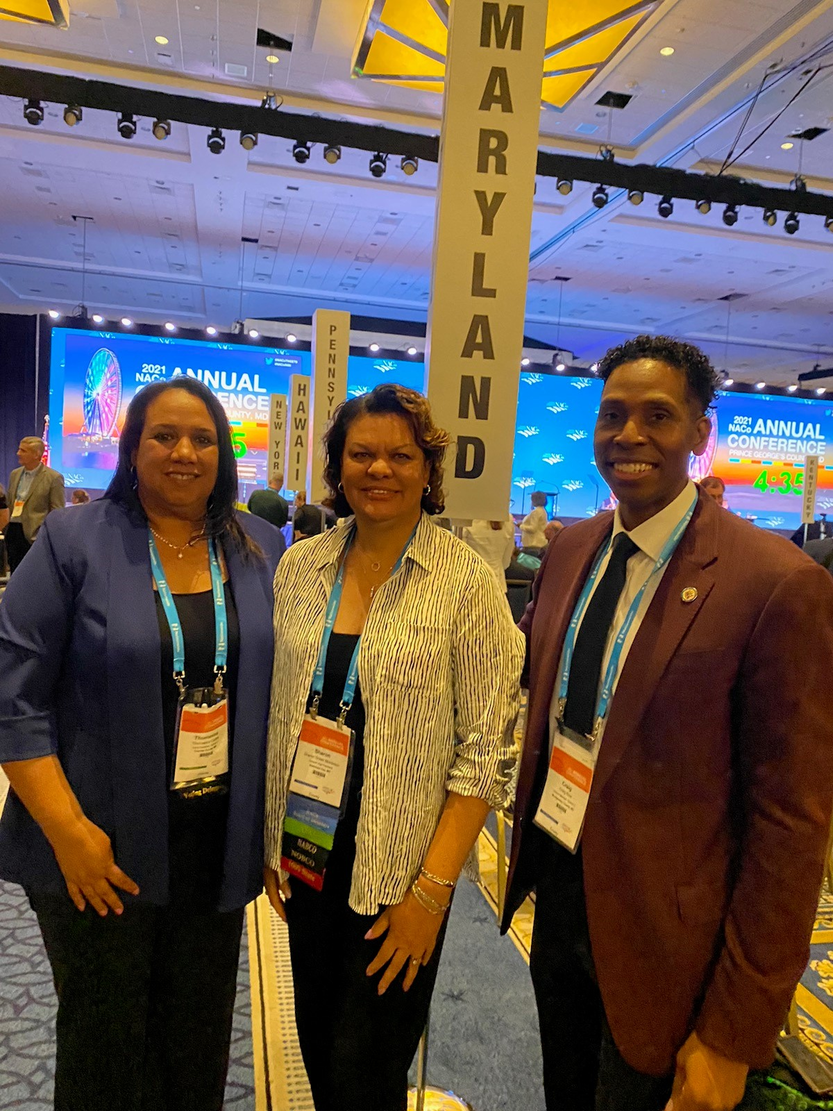 MACo and Its Members Attend NACo Conference in Prince George's