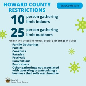"""Howard Launches """"Stay COVID Safe"""" Campaign as Cases Surge"""