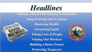 Frederick Budget Proposal Invests in Community Values, Aims to Jump-Start Economy