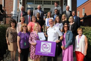 Worcester Goes Purple to Fight Substance Abuse