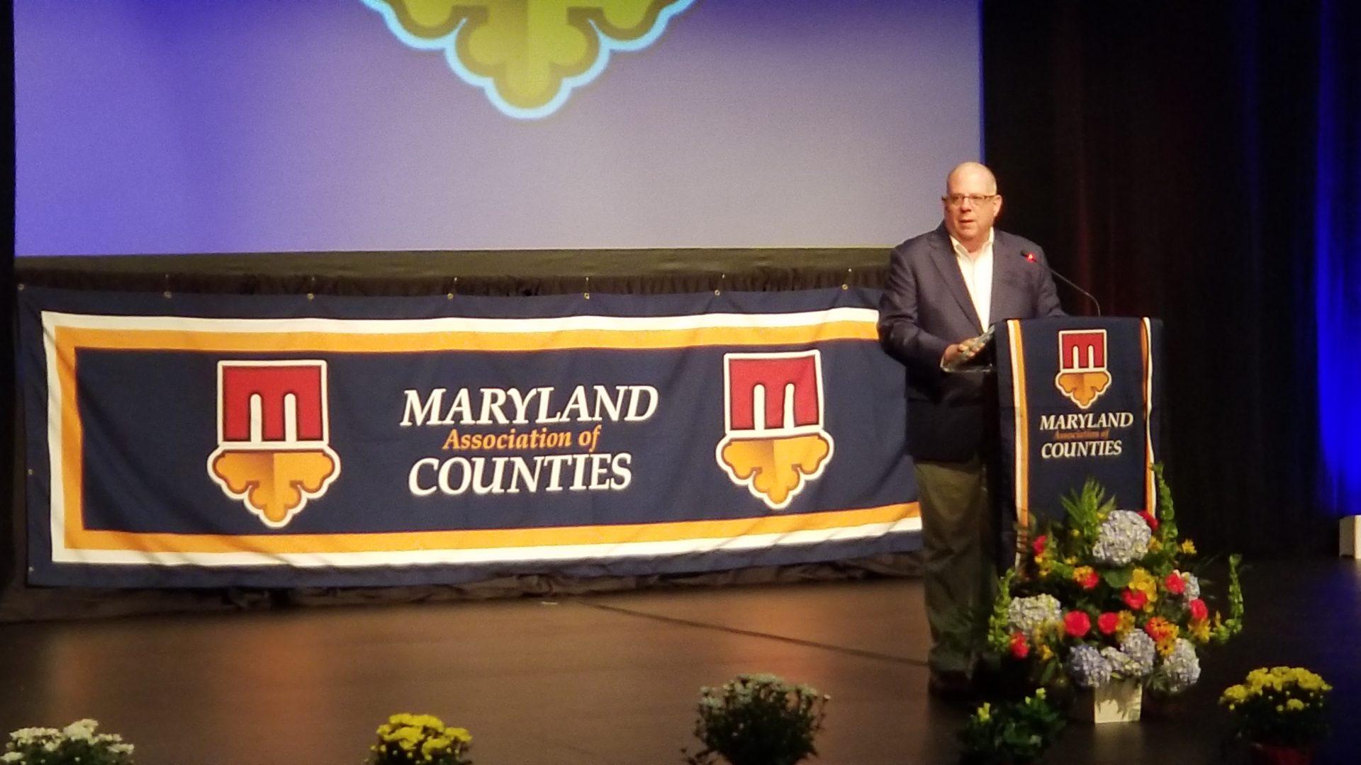Hogan Talks Education, Land Use, & Rural Broadband at 2019 Summer #MACoCon