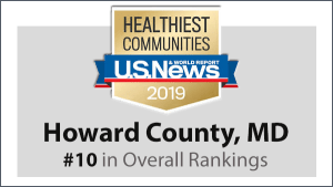 Howard County Ranked 10th Healthiest Community in the Nation by U.S. News