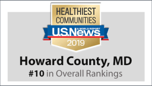 HoCo Healthy Community 2019 Ranking