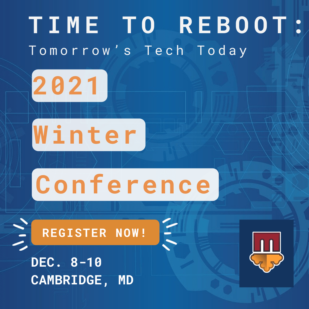 """Winter #MACoCon Titles Are Here! See What's in the Works for """"Time to Reboot: Tomorrow's Tech Today"""""""