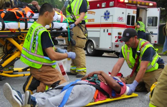 Howard Fire Dept Earns American Heart Association's EMS Excellence Award