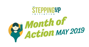 Stepping Up Month of Action