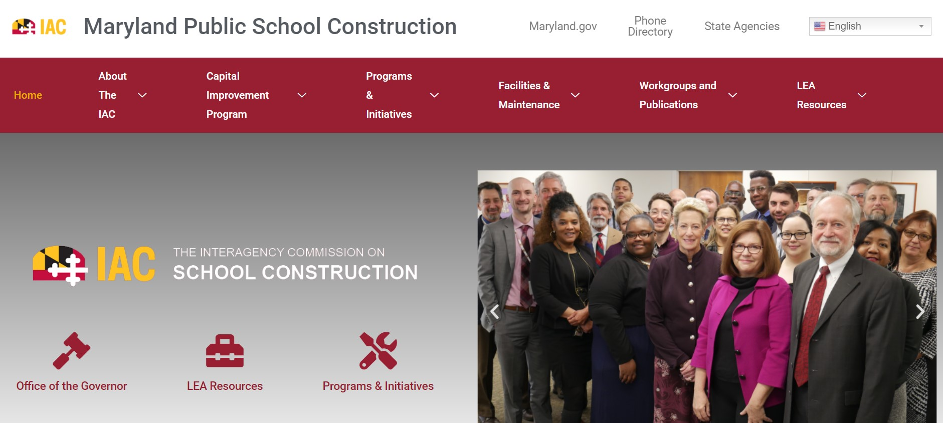 Interagency Commission on School Construction Launches New Website